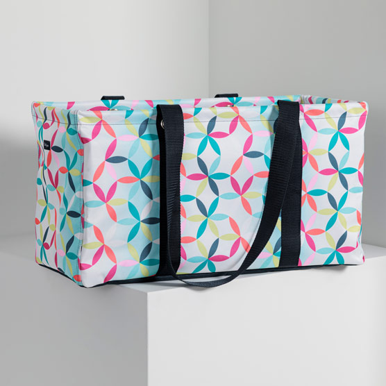 Large Utility Tote - Kaleidoscope Dreams