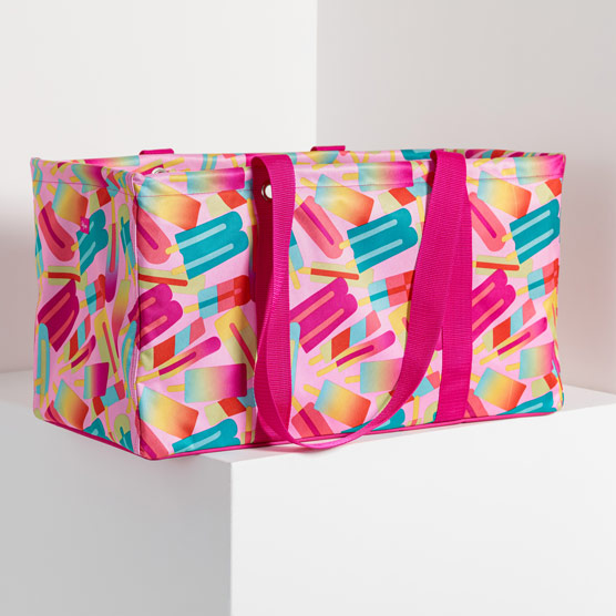 Large Utility Tote - Popsicle Party