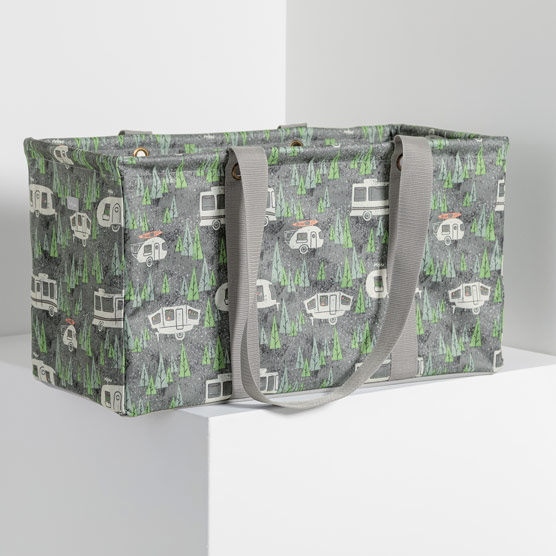 Large Utility Tote - RV There Yet Grey