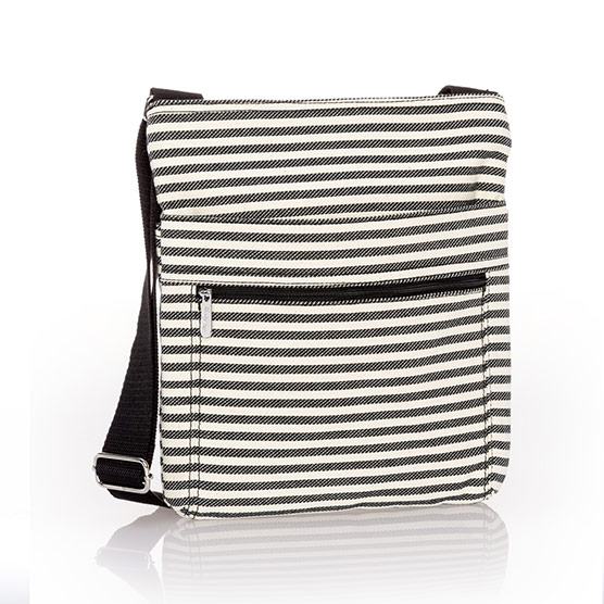 Organizing Shoulder Bag - Twill Stripe