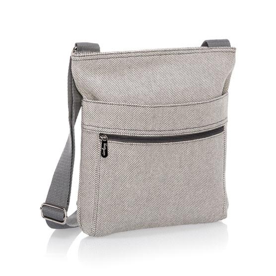 Organizing Shoulder Bag - Two-Tone Weave