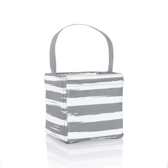 Littles Carry-All Caddy - Grey Brush Strokes