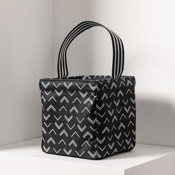 Littles Carry-All Caddy - Tip Top Chevron