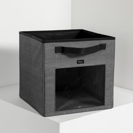 Your Way ® Cube - Charcoal Crosshatch