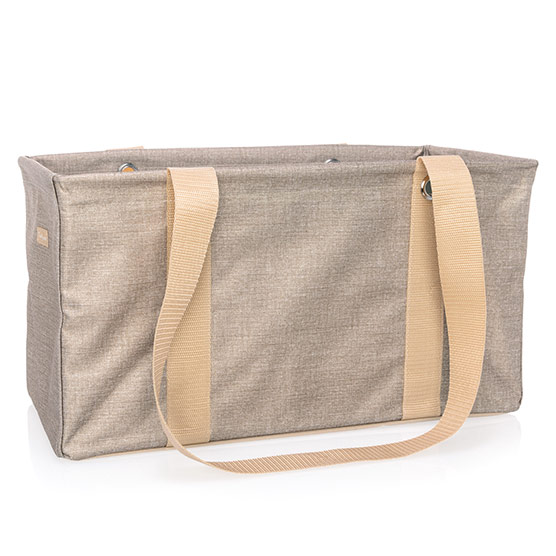 Medium Utility Tote - Frosted Gold Metallic
