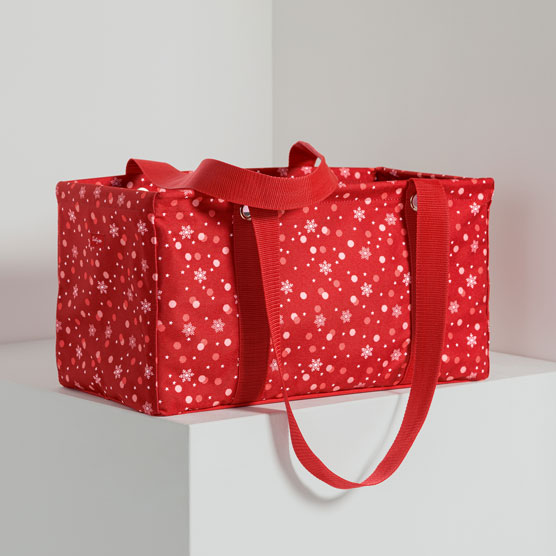 Medium Utility Tote - Fun Flurries