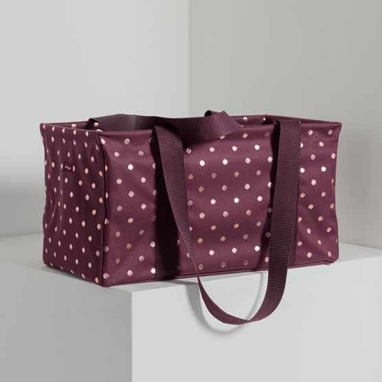 Medium Utility Tote - Twinkling Plum