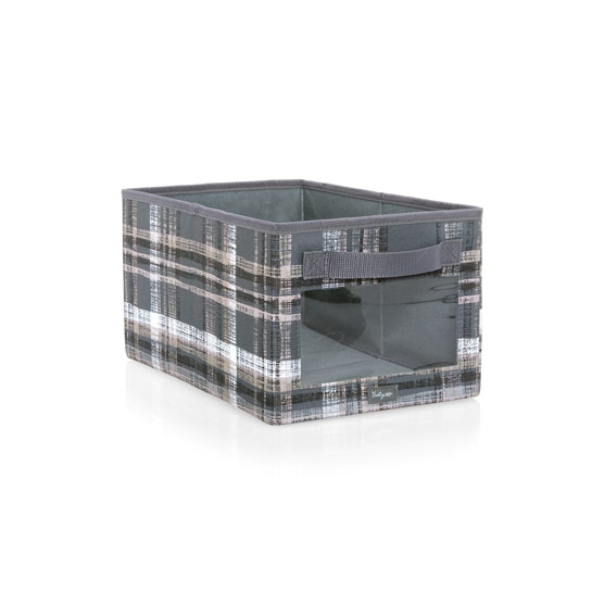 Your Way Rectangle - Cozy Plaid