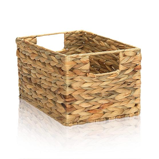 Your Way Rectangle Basket - Water Hyacinth