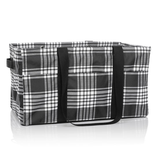 Deluxe Utility Tote - Perfectly Plaid
