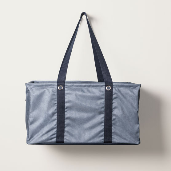 Deluxe Utility Tote - Denim Distressed