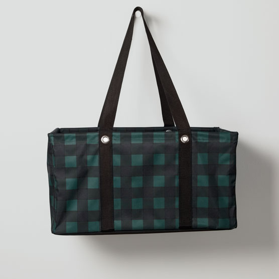 Deluxe Utility Tote - Buffalo Plaid