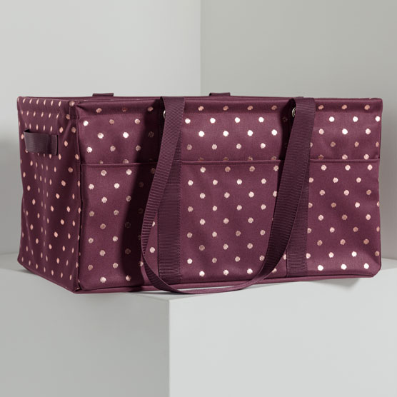 Deluxe Utility Tote - Twinkling Plum