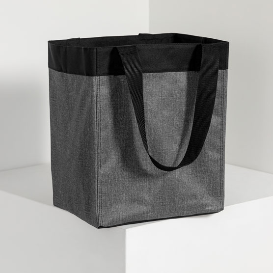 Essential Storage Tote - Charcoal Crosshatch