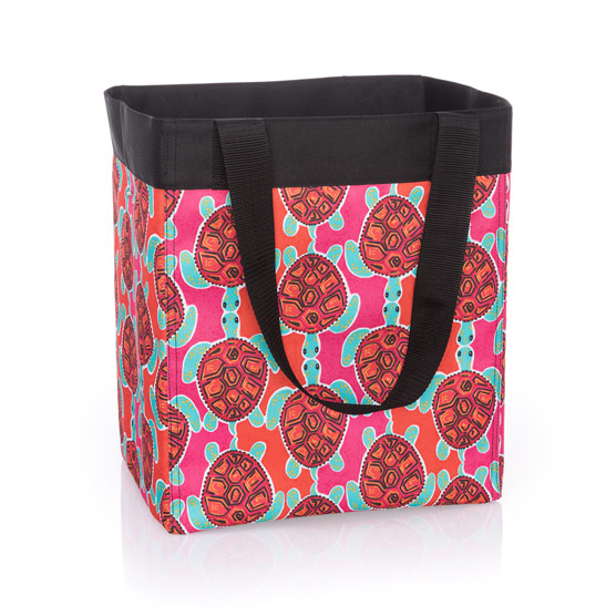 Essential Storage Tote - Sea Turtle Tango