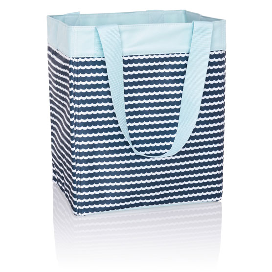 Essential Storage Tote - Scallop Stripe