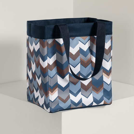 Essential Storage Tote - Shades of Chevron