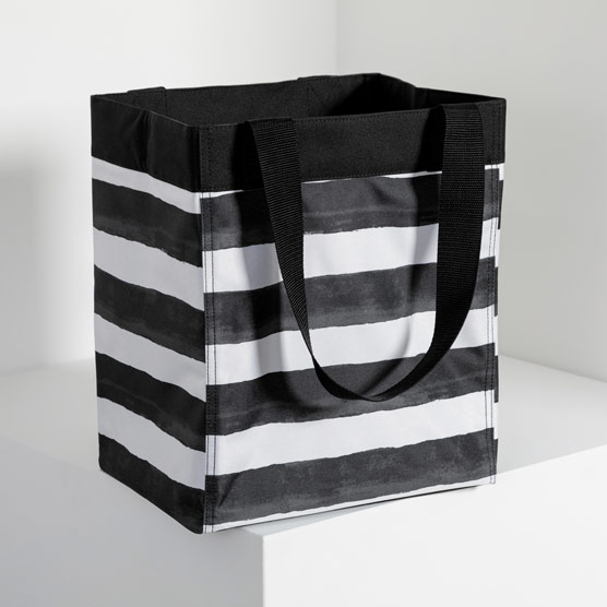 Essential Storage Tote - Watercolor Stripe