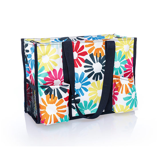 Zip-Top Organizing Utility Tote - Bloomin' Bouquet
