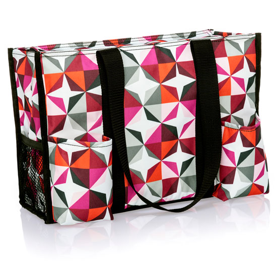 Origami Pop Zip Top Organizing Utility Tote Thirty One Gifts