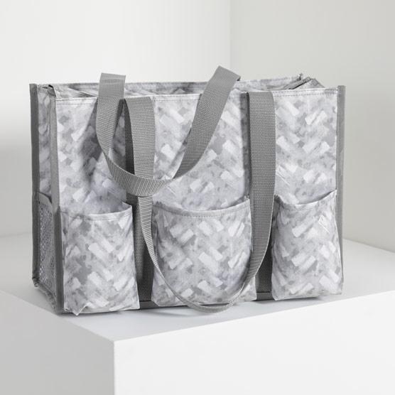 Zip-Top Organizing Utility Tote - Mystic Grey