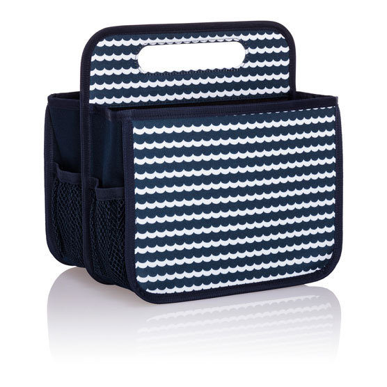 Double Duty Caddy - Scallop Stripe