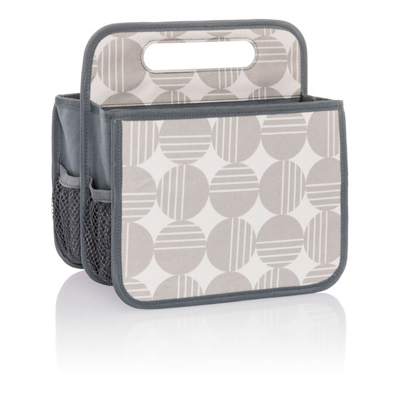Double Duty Caddy - Deco Dots
