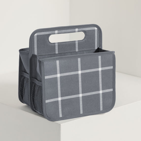 Double Duty Caddy - Windowpane Plaid