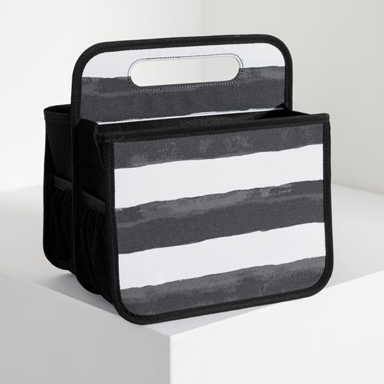 Double Duty Caddy - Watercolor Stripe