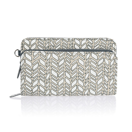 Perfect Cents Wallet - Chevron Charm