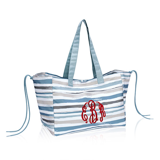 Soft Utility Tote - Brush Strokes
