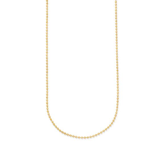 #3 Ball Chain - 24 inch - Gold Tone