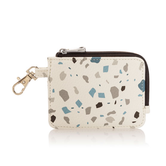 Light Traveler Card Wallet - Terrazzo Pebble