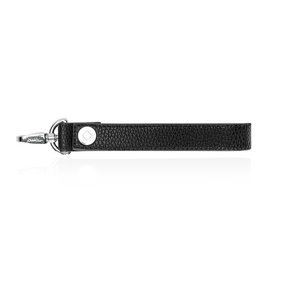 Wristlet Strap - Black Beauty Pebble
