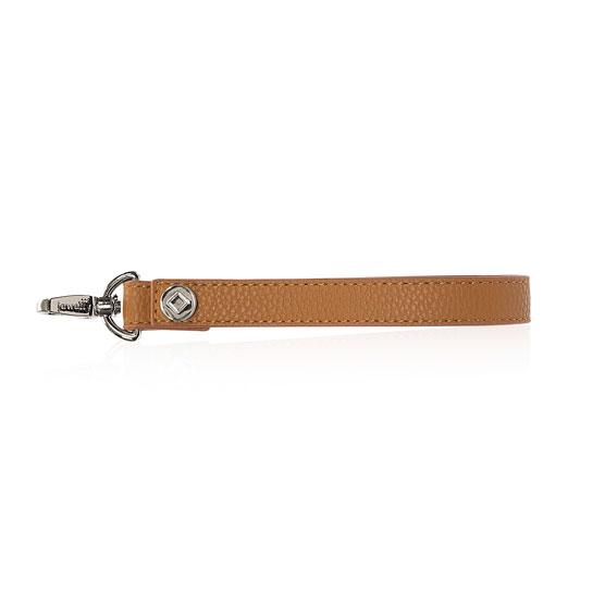 Wristlet Strap - Caramel Charm Pebble