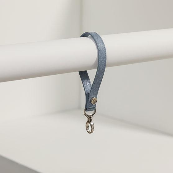 Wristlet Strap - Denim Distressed Pebble