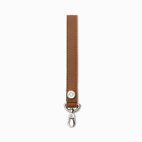 Wristlet Strap - Caramel Distressed Pebble