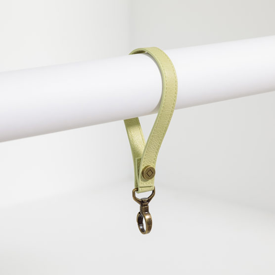Wristlet Strap - Lemongrass Distressed Pebble