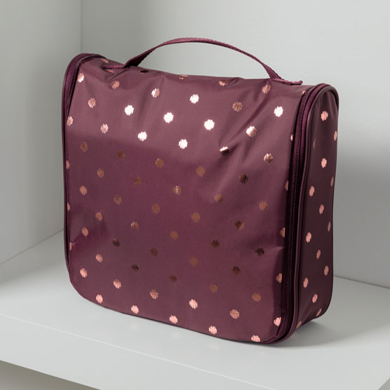 Hanging Traveler Case - Twinkling Plum