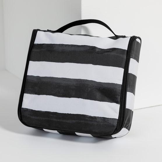 Hanging Traveler Case - Watercolor Stripe