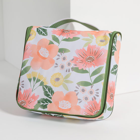 Hanging Traveler Case - Morning Floral