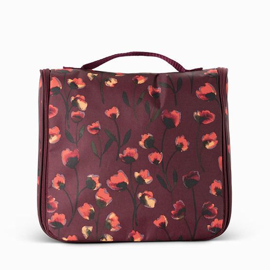 Hanging Traveler Case - Delicate Floral