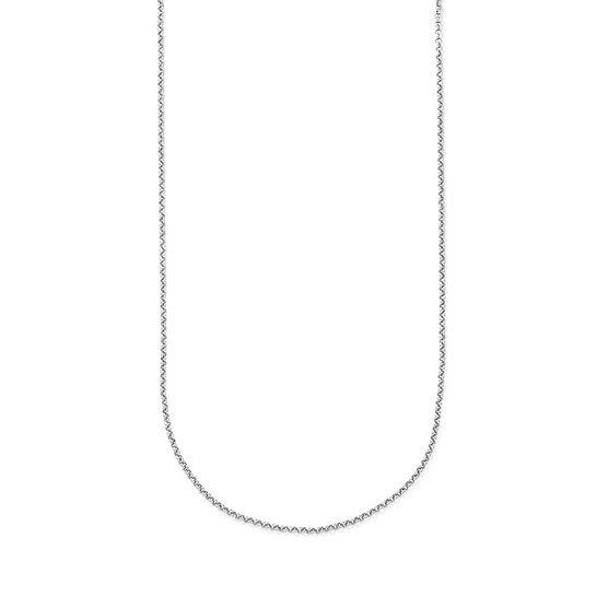 Dainty Rolo Chain - 24 inch - Silver Tone