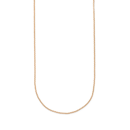 Dainty Rolo Chain - 24 inch - Gold Tone