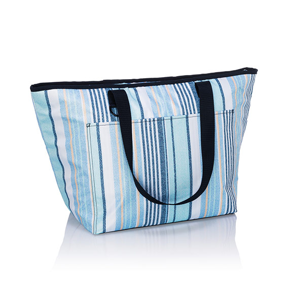 Tote-ally Thermal - Boardwalk Stripe