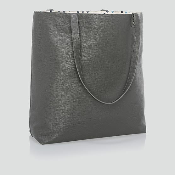 Around Town Tote - City Charcoal Pebble