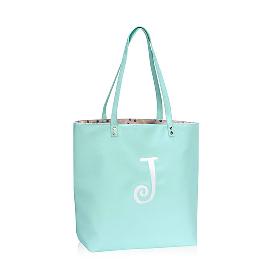 Around Town Tote - Skies for You Pebble