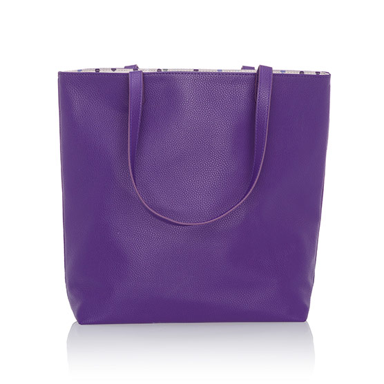Around Town Tote - Posh Purple Pebble