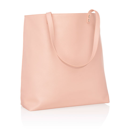 Around Town Tote - Rose Blush Pebble