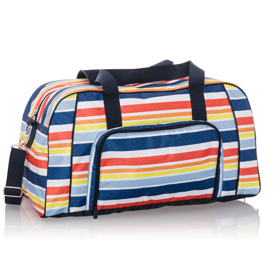 All Packed Duffle - Vista Stripe